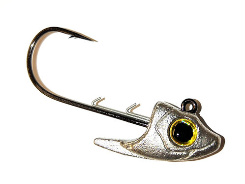 3/8 oz Gold-Eye Minnow head