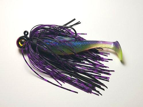 3/8 oz Purple River Monster