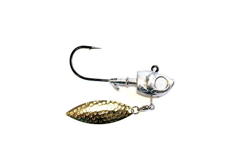 1  oz  Herring Head Underspin with Ring & Barb collar