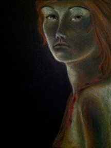 Glowing Woman