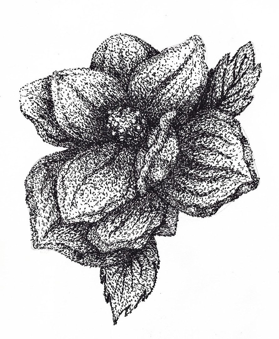 Stippled Flower
