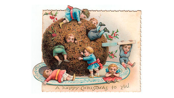 Victorian-Christmas-KIds-with-Pudding.jp