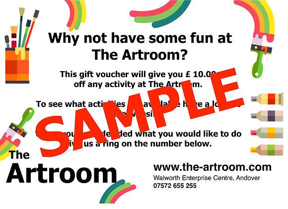 The Artroom Voucher
