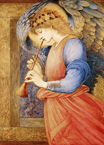 Edward_Burne-Jones_-_An_Angel_Playing_a_