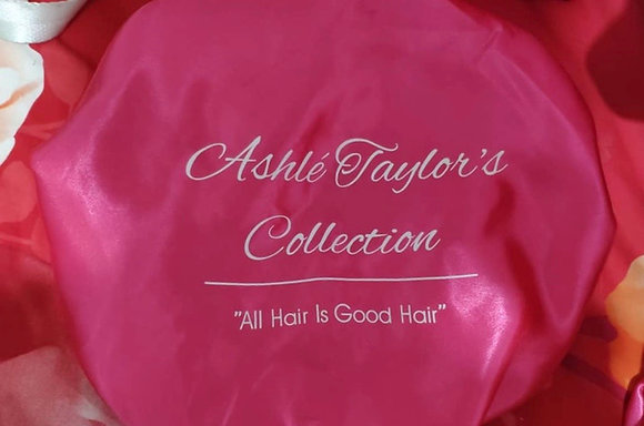 Pink Double Lining Silk Bonnet