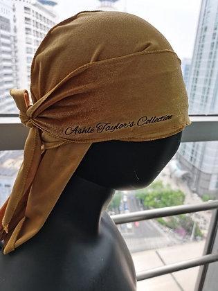 Velvet Khaki Durag
