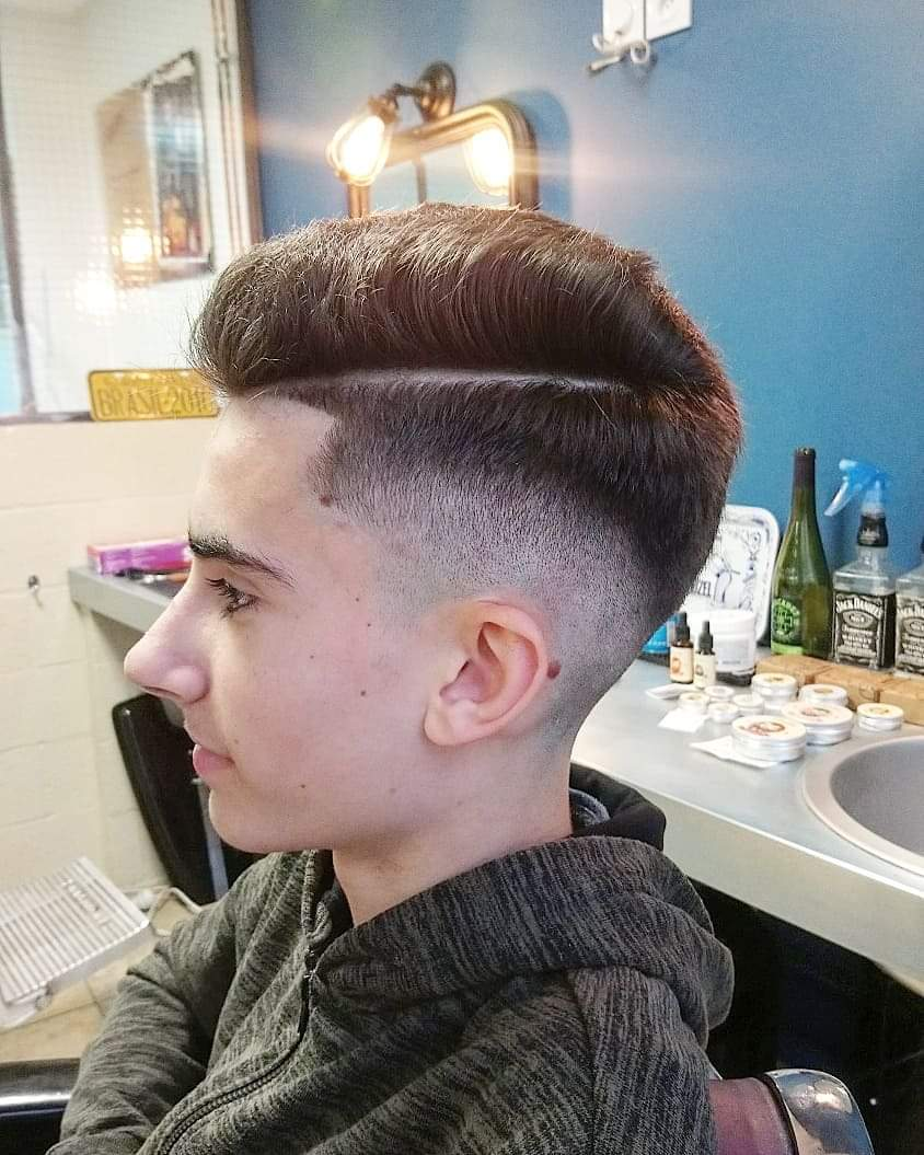 coupe homme super stylée