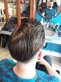 Coupe cheveux vintage