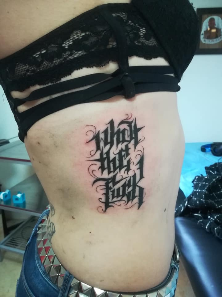 Tatouage What The Fuck