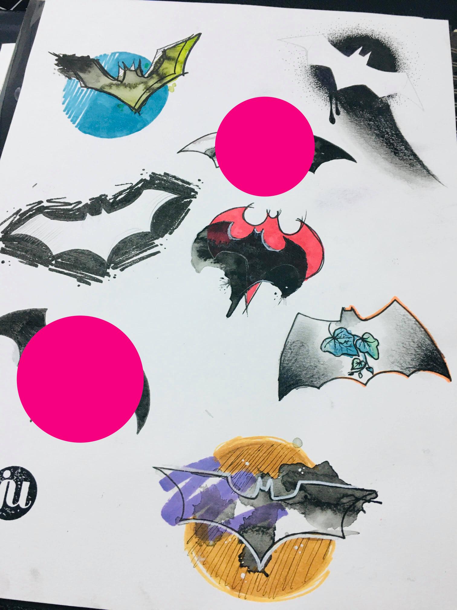 Tattoo Flash Batman