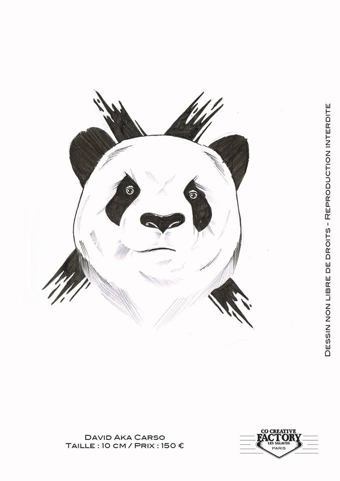 Tattoo Flash Panda