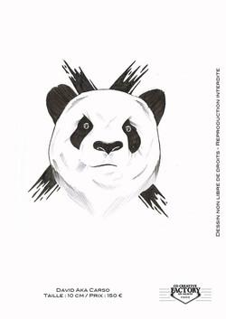 Tattoo Flash Panda
