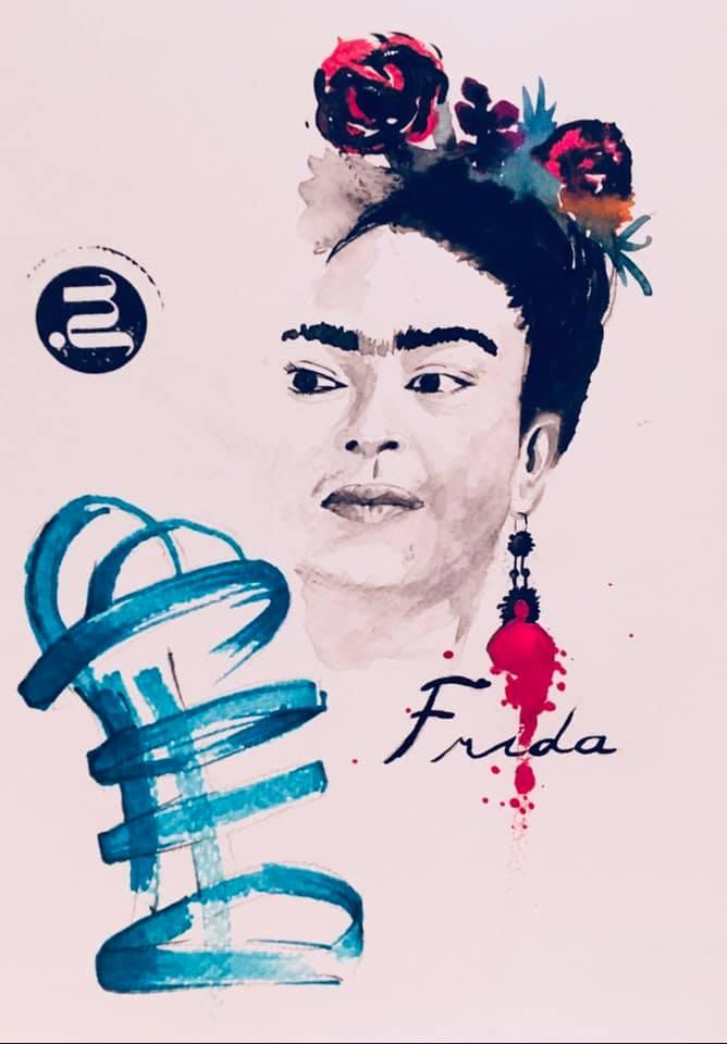 Tattoo Flash Frida Kahlo