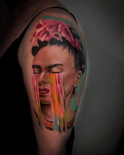 Tatouage Frida Khalo