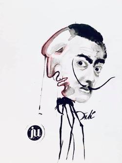 Tattoo Flash Salvador Dali