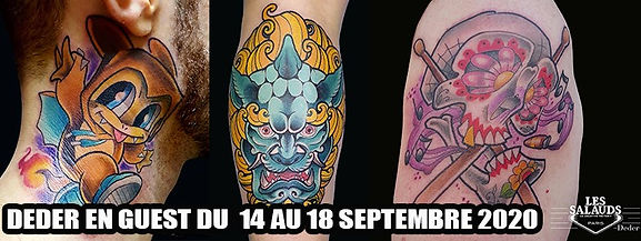 Tattoo Guest Deder à Paris