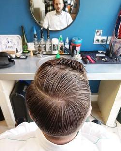 Coupe cheveux homme style rétro