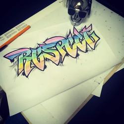 Tattoo Flash Graffiti disponible
