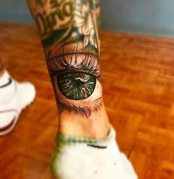 Tatouage Oeil couleurs