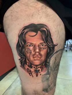 Tatouage Mick Jagger