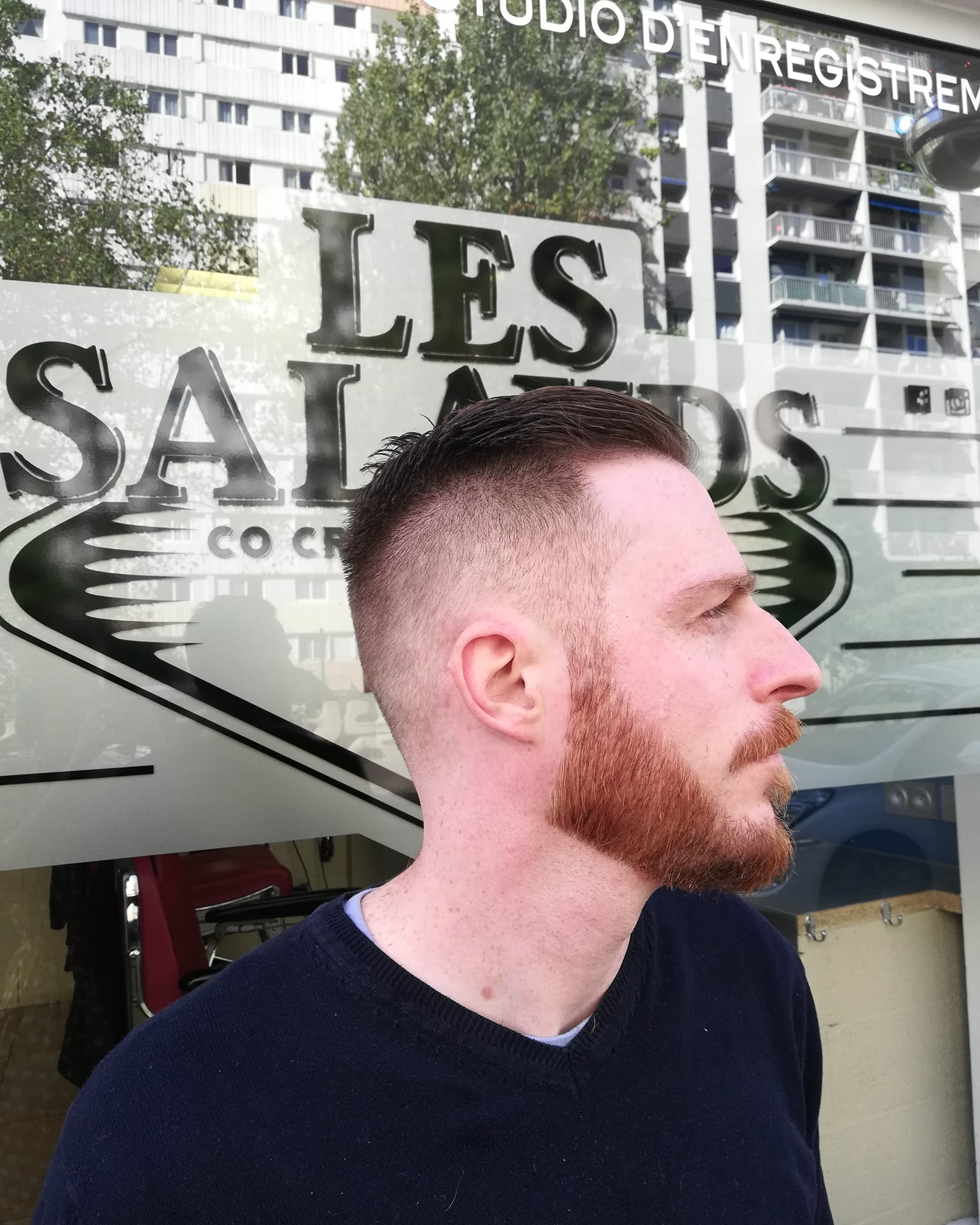 Coiffeur Homme Barbier Paris 13 Co Creative Factory Les Salauds