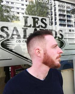 Coupe cheveux homme dégradé américai