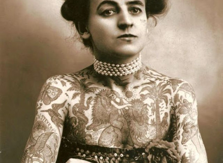 Le tatouage féminin au début du XXème siècle