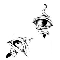 Tattoo flash œil