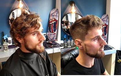 Coupe cheveux et taille barbe