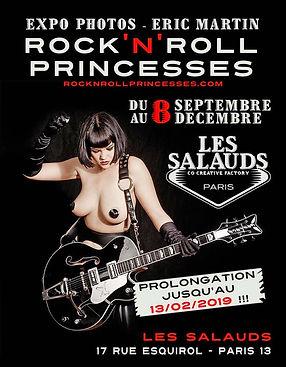 Expo Rock roll Princesses prolongations.