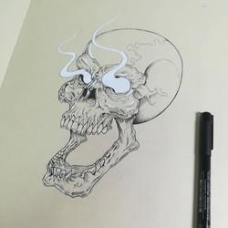 Tatouage skull