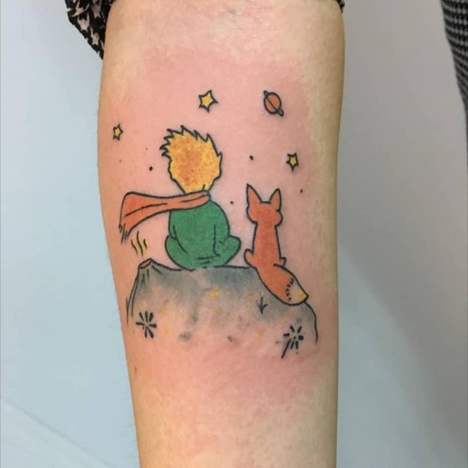 Tatouage le Petit Prince