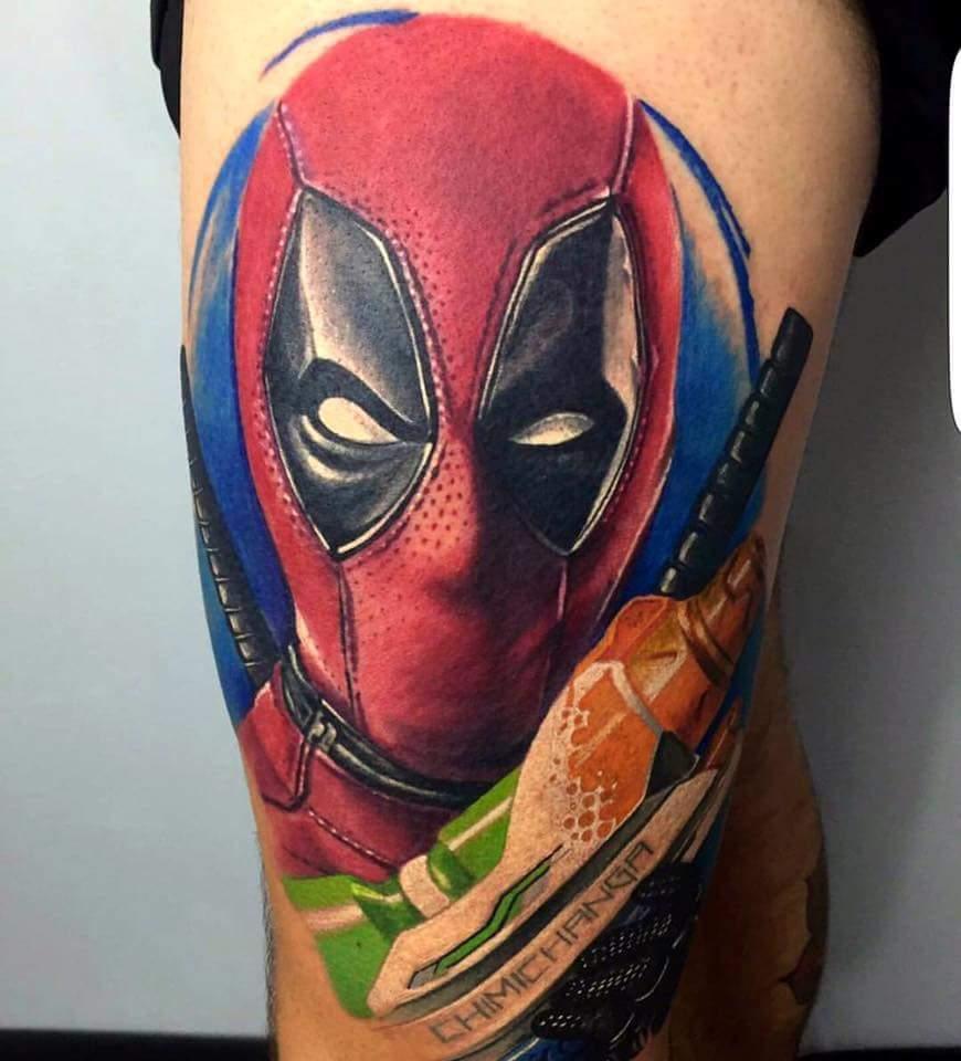 Tatouage de Deadpool