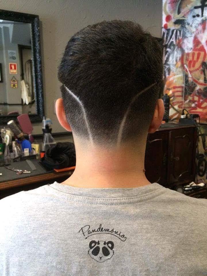 Coupe cheveux homme stylisée