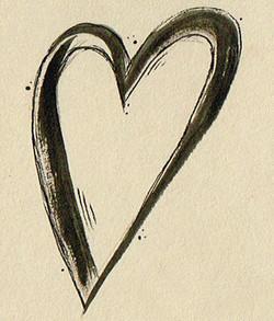 Tattoo Flash Cœur