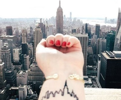 Souvenirs de voyage tatoués