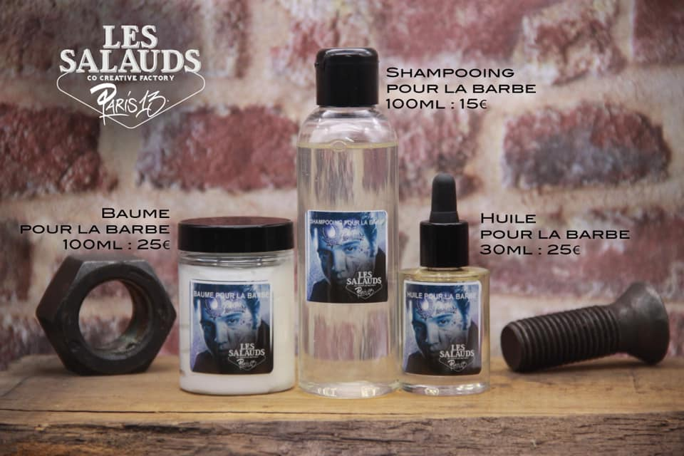 Gamme produit Barber Les Salauds