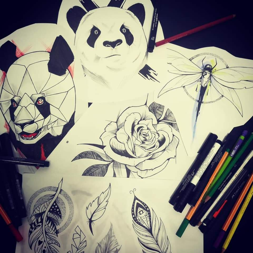 Motif tatouage disponible