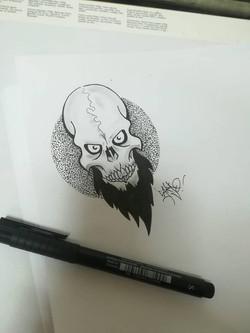 Flash Skull barbu Carso