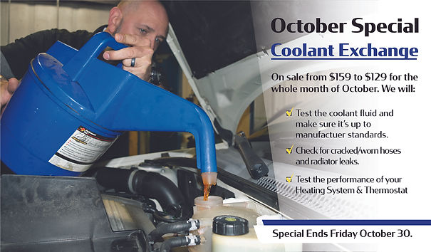 October Cooling System Special