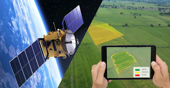 Satellites provide on-the-ground analysis for farms fighting effects of climate change