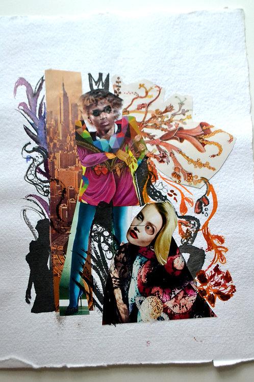 Fashion Mix Series Collage