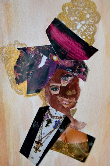 Mixed Fashion Collage Series