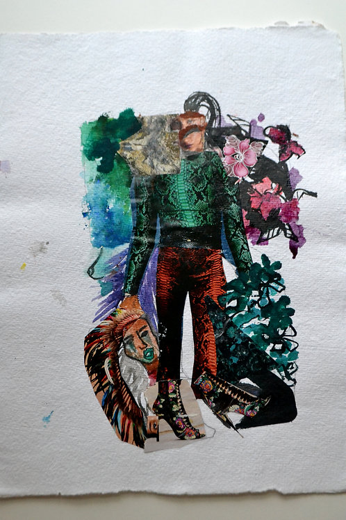 Fashion Mix Series Collage