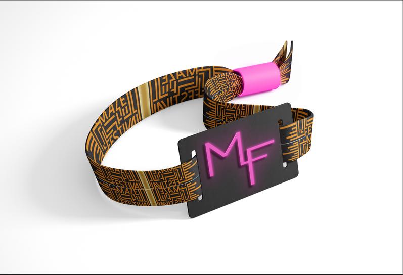 MazeFest Wristband