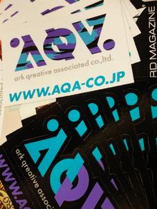 AQA ORIGINAL_LOGO sticker