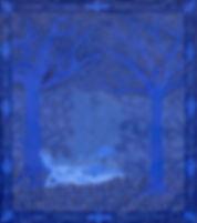 Lua Azul by Delfina Muñoz de Toro
