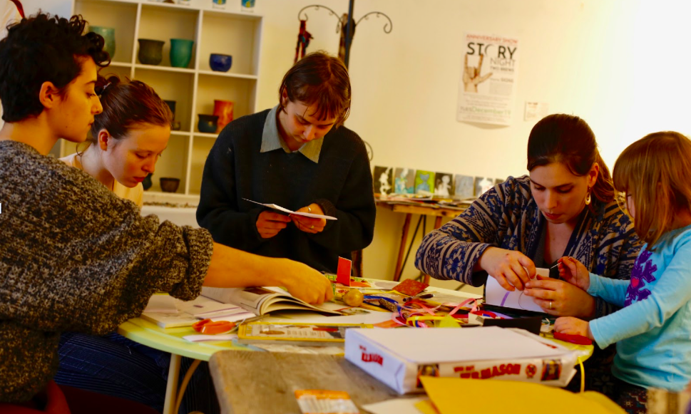 Bookmaking skillshare