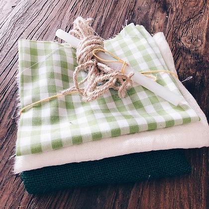 Diy Vlaggenlijn - groen