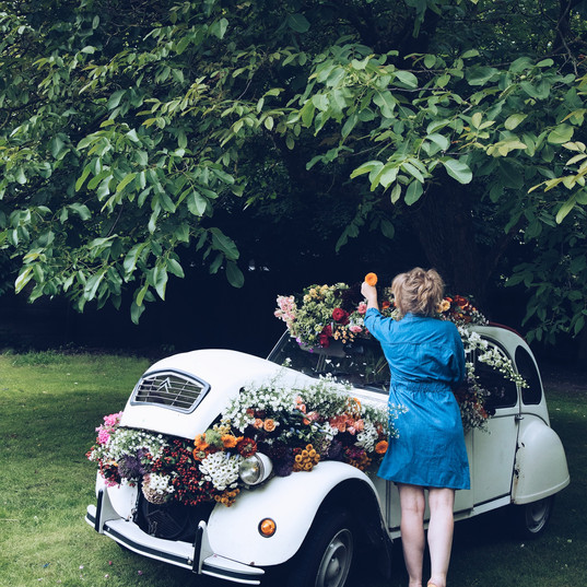 Citroën @ flower bomb